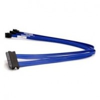 Supermicro  miniSAS Internal 36pin (SFF-8087) Male to 4xSATA/SAS 50cm Cable CBL-0103L