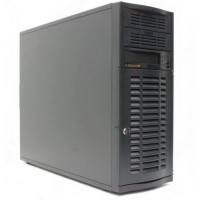 Supermicro Server SC733T-500B 4xHDD Black Tower ATX
