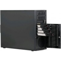 Supermicro Server SC733TQ-665B 4xHDD Black Tower ATX