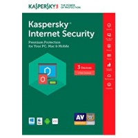 Kaspersky Internet Security 2017 3-Pack 1-Year Box