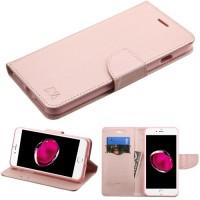 iPhone 7 Plus Case Rose Gold MyJacket wallet w/card slot