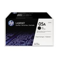 Laser HP 05A Black Dual Pack CE505AD Printer Supplies