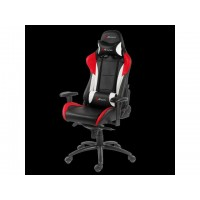 Chair Gaming Arozzi Verona - Pro Black w/ White & Red