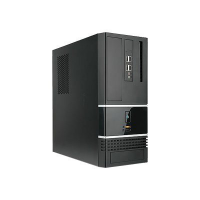 IN WIN BK623.BH300TB3 Black 0.6mm SECC Japanese ECO Steel MicroATX Mini Tower Computer Case SFX 12V Form Factor, 300W Power Supply