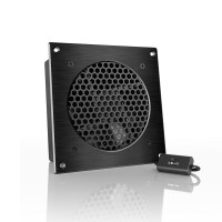AC Infinity AIRPLATE S3, Quiet Cooling Fan System with Speed Control, for Home Theater AV Cabinet Cooling Six Inch