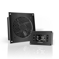 AC Infinity AIRPLATE T3 Home Theater and AV Quiet Cabinet Cooling Fan System 6 Inch
