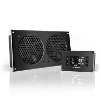 AC Infinity AIRPLATE T7 Home Theater and AV Quiet Cabinet Cooling Fan System 12 Inch