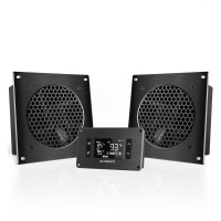 AC Infinity AIRPLATE T8 Home Theater and AV Quiet Cabinet Cooling Dual-Fan System 6 Inch