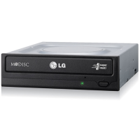 DVDRW LG DL GH24NSC0 24X Black SATA OEM w/Software Optical Drive