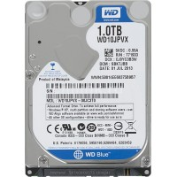 WD Blue 1TB Mobile 9.50mm Hard Disk Drive - 5400 RPM SATA 6 Gb/s 2.5 Inch - WD10JPVX