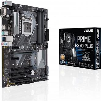 ASUS Prime H370M-Plus/CSM LGA1151 (300 Series) DDR4 HDMI DVI VGA M.2 mATX Motherboard