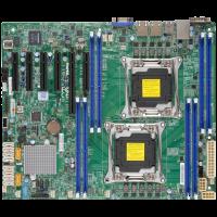 ATX Supermicro X10DRL-i C612 Xeon SATA-Raid DDR4 USB3.0 Video 2xGbE 2xR3-LGA2011 MB