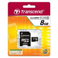 SD Micro HC Transcend 8GB Class 10 Memory