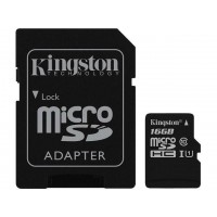 Kingston Canvas Select 16GB microSDHC Flash Card Model SDCS/16GBCR