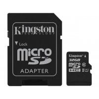 Kingston Canvas Select 32GB microSDHC Memory (Flash Memory) SDCS/32GBCR