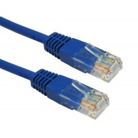 RJ45 UTP Cat5e Blue 1.5' Network Cable