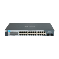 Switch HP ProCurve 24-Port 10/100/1000 + 2-Port SFP Unmanaged 1410-24G Networking
