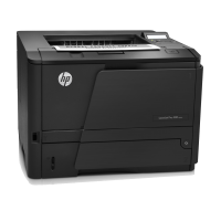 HP LaserJet Pro M401n B/W Laser Legal, A4 1200x1200 35ppm 250pages Printer