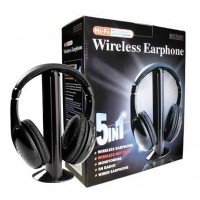 Headphone PowerData Wireless 5-in-1 w/FM Audio