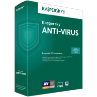 Kaspersky Anti-Virus 2015 3-Pack Box Software
