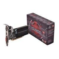 ASUS Radeon HD 6450 HD6450 Video Card SL/1GB DDR3/64bit PCI-E (LP) VGA/DVI-D/HDMI Fanless