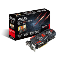 PCI-E Asus VCX R7 240 2GB DDR5/128bit VGA/DVI-D/HDMI Video Card