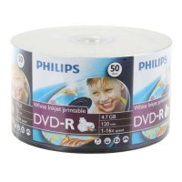 DVD-R Philips16X 50pcs