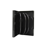 CD/DVD Case 8pc w/2 Tray Media