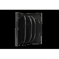 CD/DVD Case 8pc w/2 Tray Media