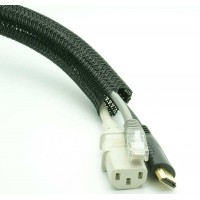Cable Management Sleeving 1.5'' Black per Foot