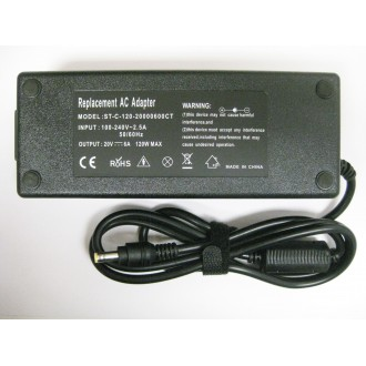 HP 20V 6A 5.5*2.5 AC Power Adapter (Generic)
