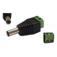 Connector DC Power Plug Male Surveillance