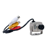 Camera Mini Wired Color Metal Case Surveillance