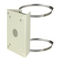 Mounting Bracket for Pole Mount Surveillance