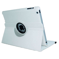 Case iPad Air Leather White Mobility