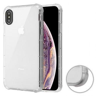 MYBAT iPhone XS Max Transparent Clear Corner Guard Candy Skin Cover IPXSMAXCASKCA831NP