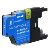 Ink Brother Compat LC75 Cyan Printer Supplies