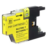 Ink Brother Compat LC75 Yellow Printer Supplies