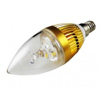 LED E14 3 Watts Warm White Lamp