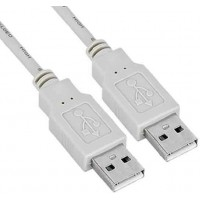 USB 2.0 A/A M/M 6' White Cable