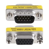 VGA 15pin Male to Female Converter Cable