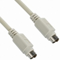 PS/2 Extension Straight M/M 6' Cable