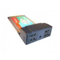 Syba PCMCIA USB 2.0 4-Ports Controller