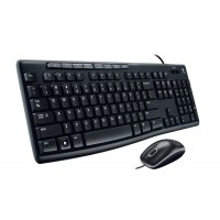 Logitech Desktop MK200 Media USB Keyboard