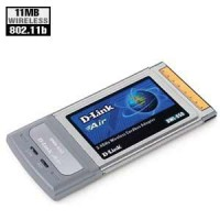 D-Link 802.11b PCMCIA Card DWL-650+ Networking (Wireless)
