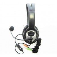 Headphone w/Mic Super Stereo Hi-Fi Audio