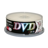DVD+R DL Ridata 8X 25pcs Inkjet White Media