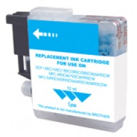 Ink Brother Compat LC61 Cyan Printer Supplies