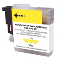 Ink Brother Compat LC61 Yellow Printer Supplies